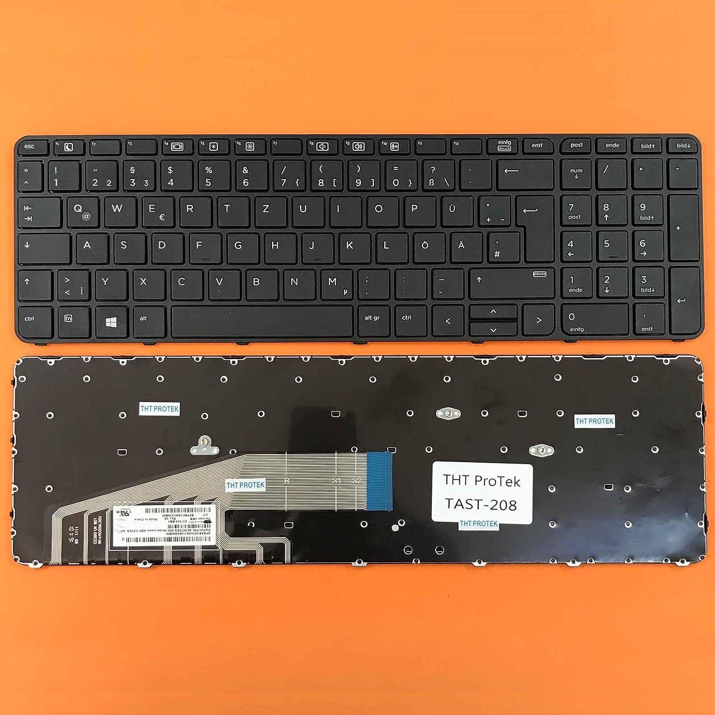 kompatibel f/ür HP ProBook 655 G2 DEUTSCHE Tastatur Keyboard ohne Beleuchtung