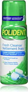 Polident Fresh Cleanse Denture Cleanser Foam, 125ml