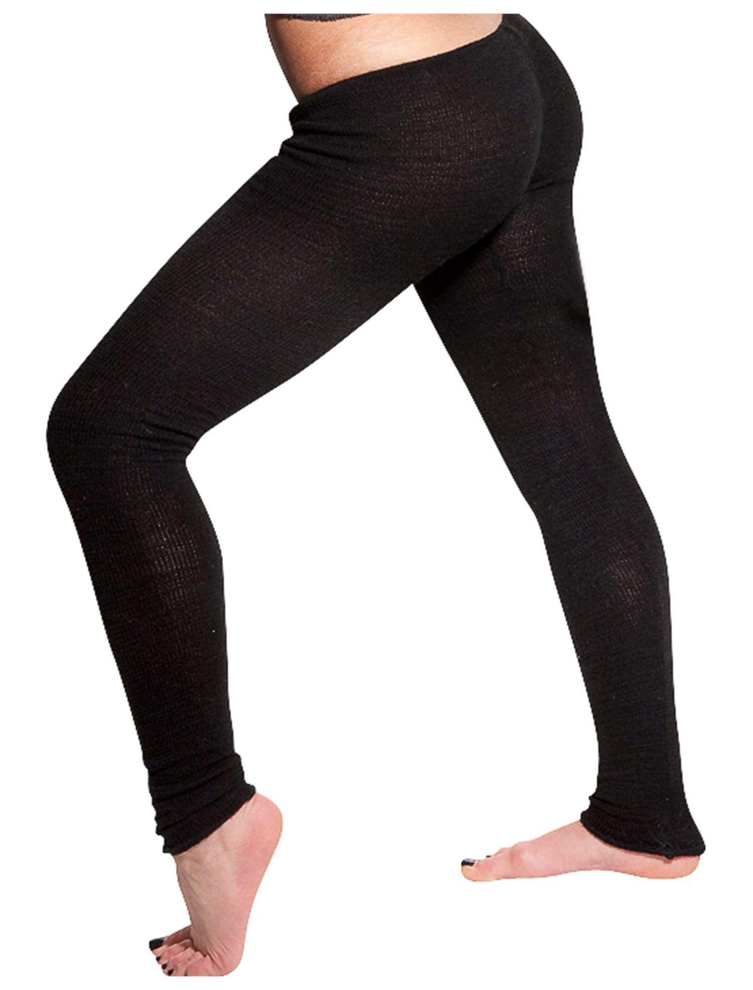 New York Black Extra Large Sexy Stretch Low Rise Leggings by KD dance New York Fine Knit Dancewear #MadeInUSA Happy New Year 2018