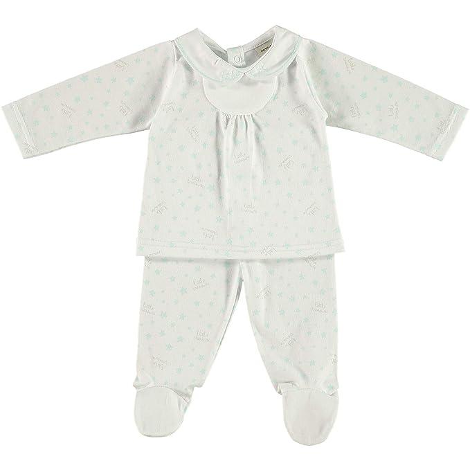 BABIDU 56234, Conjunto de Ropa Interior Unisex bebé, (Verde 001), 50
