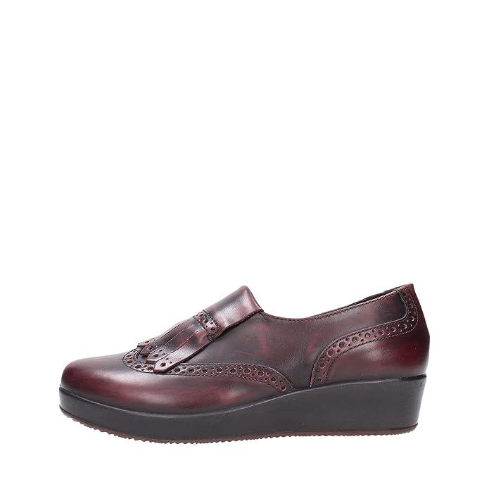 Damen Schnürhalbschuhe Violett bordeaux, Violett - bordeaux - Größe: 37 Igi & Co