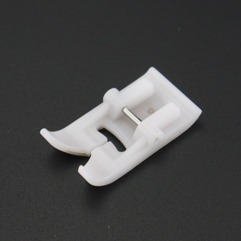 DreamStitch - #P8-7301T Prensatelas antiadherente para máquina de coser de teflón en zigzage - se adapta a presión a todas las cañas bajas, para Brother, ...