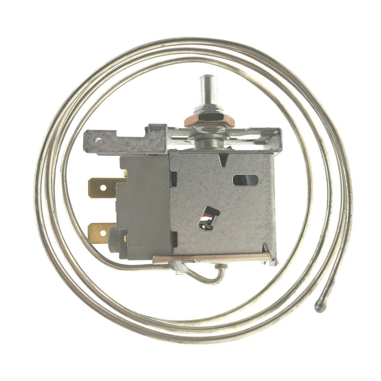2 Pin PF-20 Terminals Freezer Refrigerator Thermostat with etal Cord GYFYB US