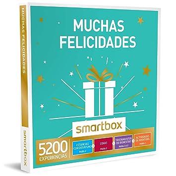 SMARTBOX - Caja Regalo -MUCHAS FELICIDADES - 4800 experiencias como escapadas, spas, cenas chic o actividades de aventura: Amazon.es: Deportes y aire libre