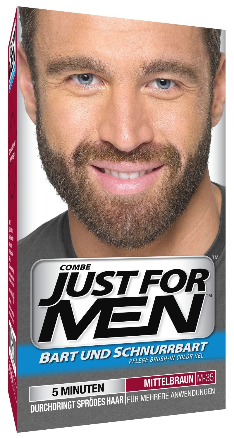 Just for MEN Brush en color Gel fórmula Barba y Bigote: Amazon.es: Belleza