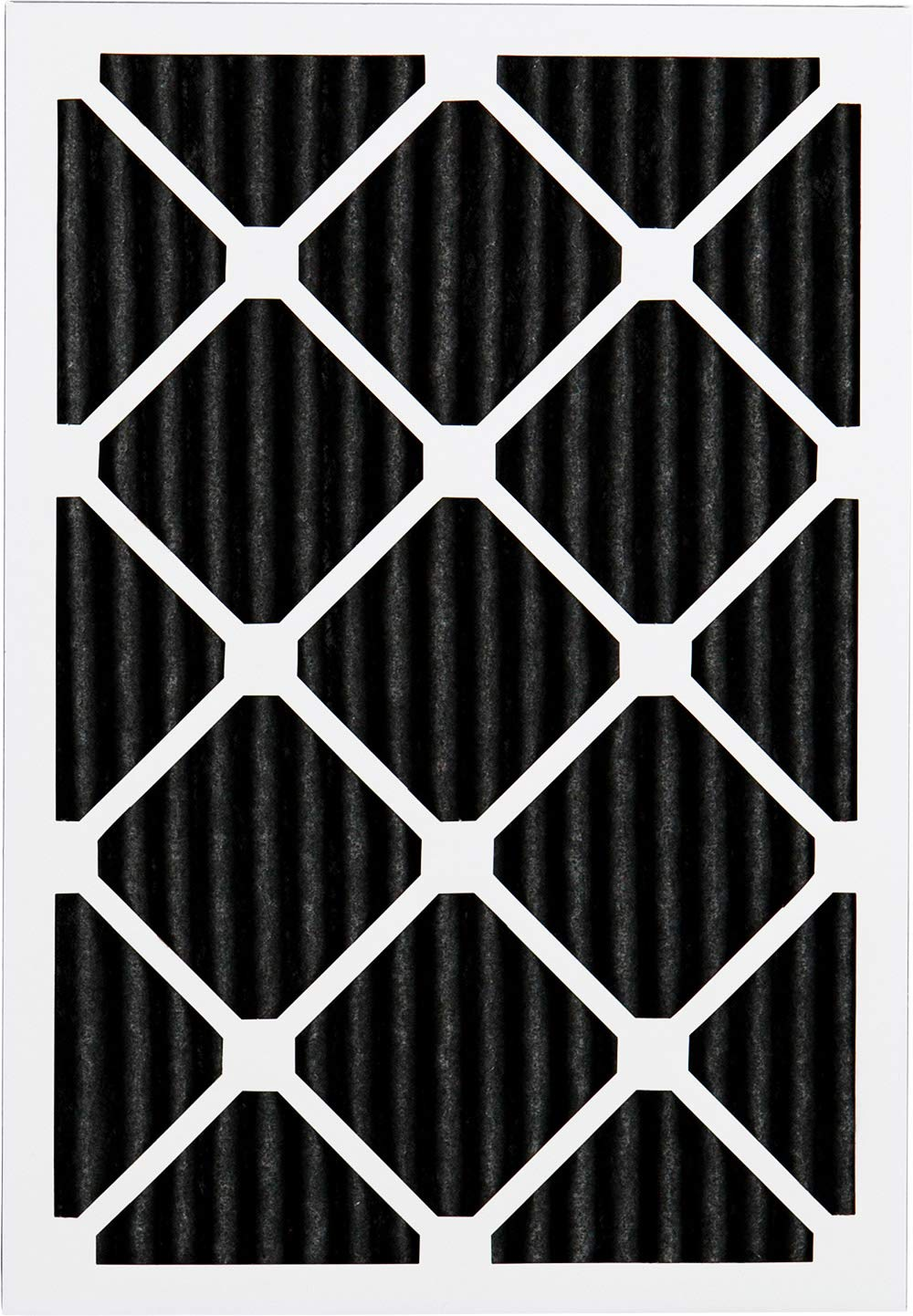 Nordic Pure 17/_1//2x23/_1//2x1 MERV 8 Pure Carbon Pleated Odor Reduction AC Furnace Air Filters 3 Pack