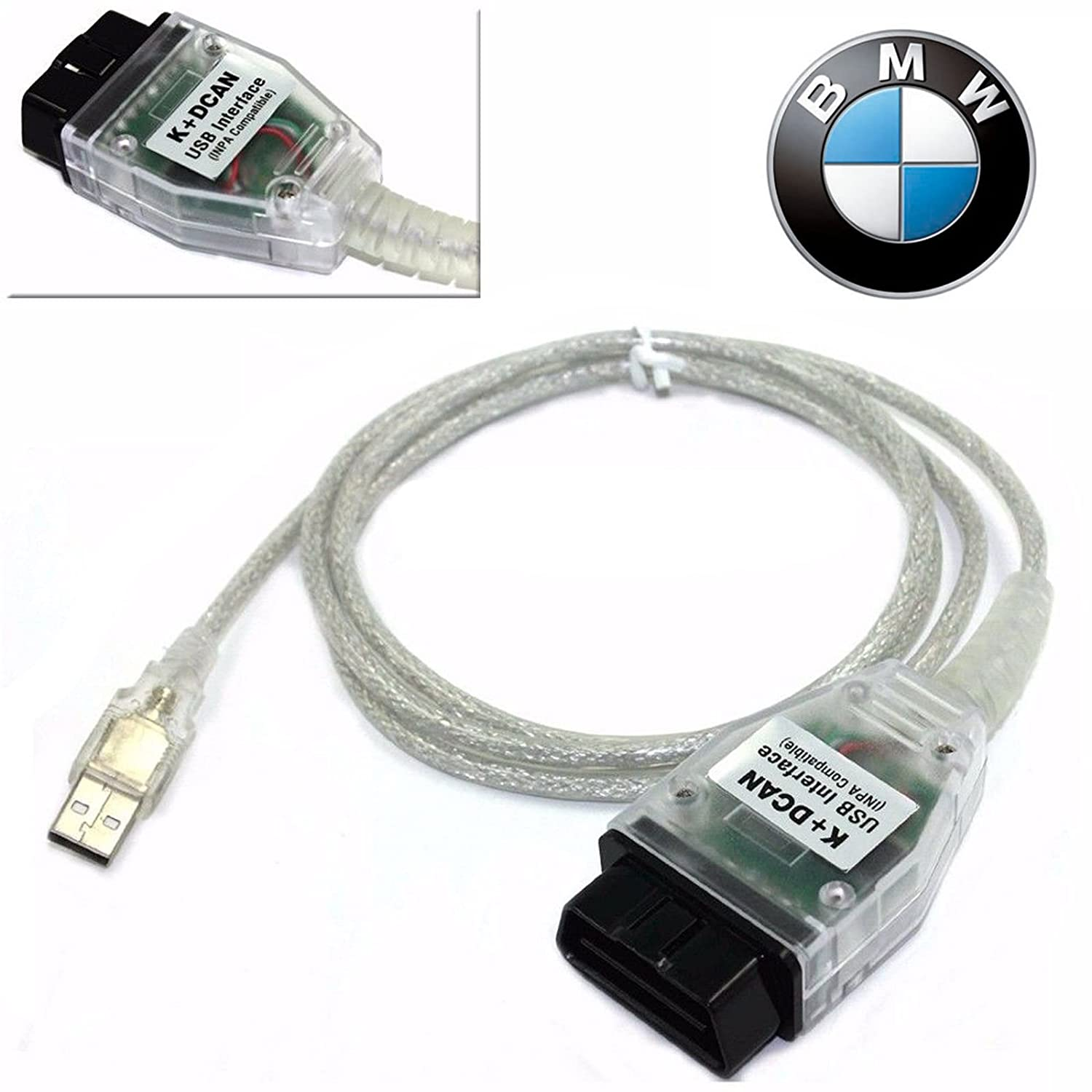 BMW K+DCAN Cable for E series