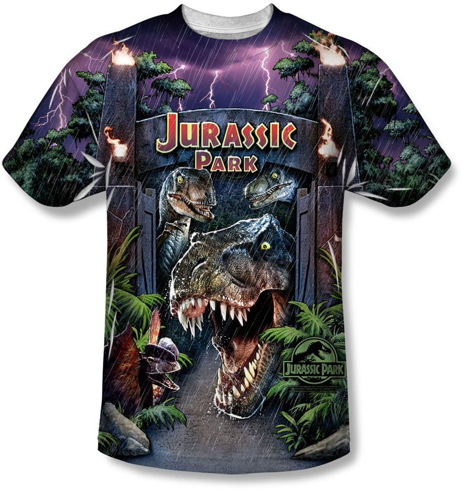 Jurassic Park - Youth Welcome To The Park T-Shirt