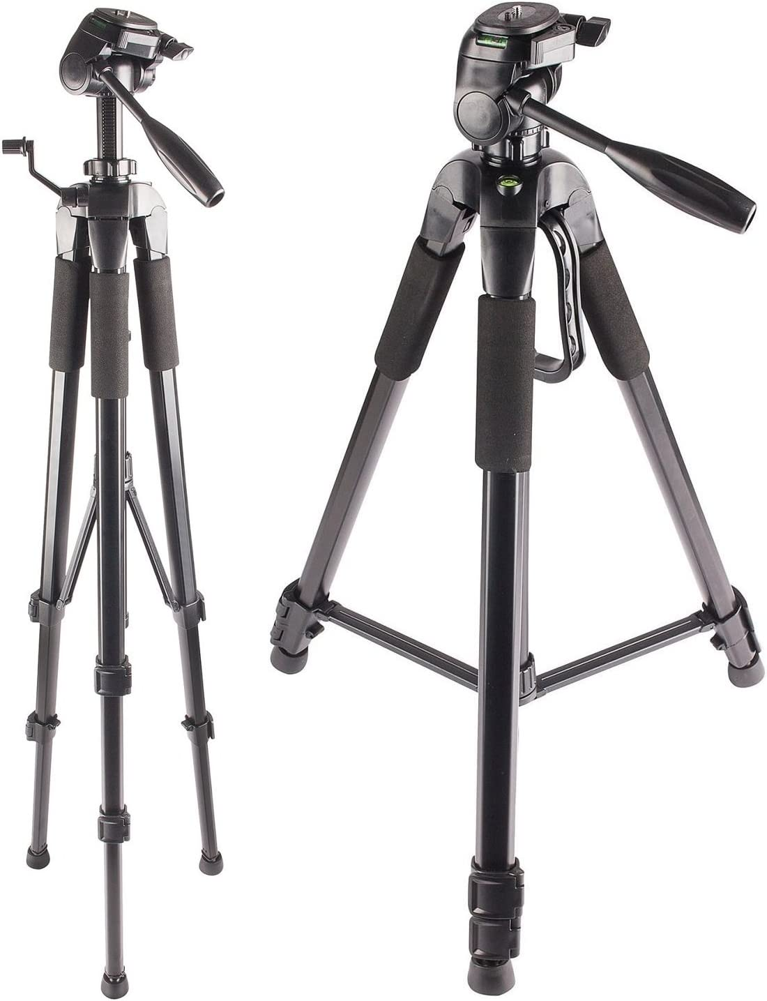 Bubble Level Professional Dual Handle Aluminum 67 Tripod for Sony NEX-VG900