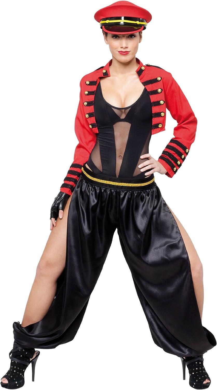 Cesar - Disfraz de rockera para mujer, talla 34 - 36 (C790-001 ...
