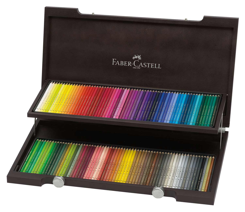 Polychromos 120 Pencil Wood Box Set by Faber-Castell