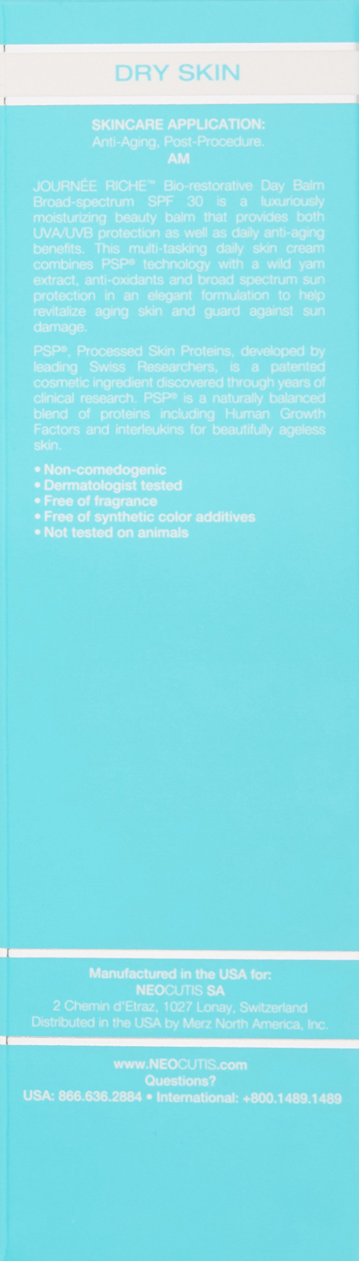 Neocutis Journee Riche Bio-Restorative Day Balm Broad-Spectrum Sunscreen SPF 30 1.69 oz by NEOCUTIS (Image #2)