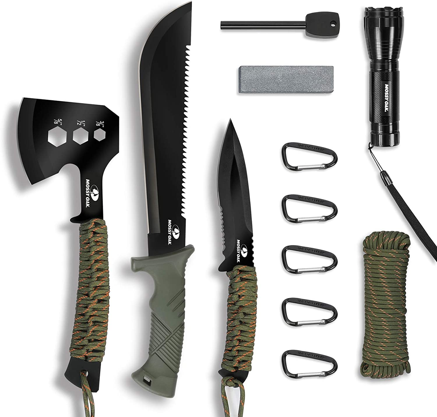Mossy Oak Axes for camping
