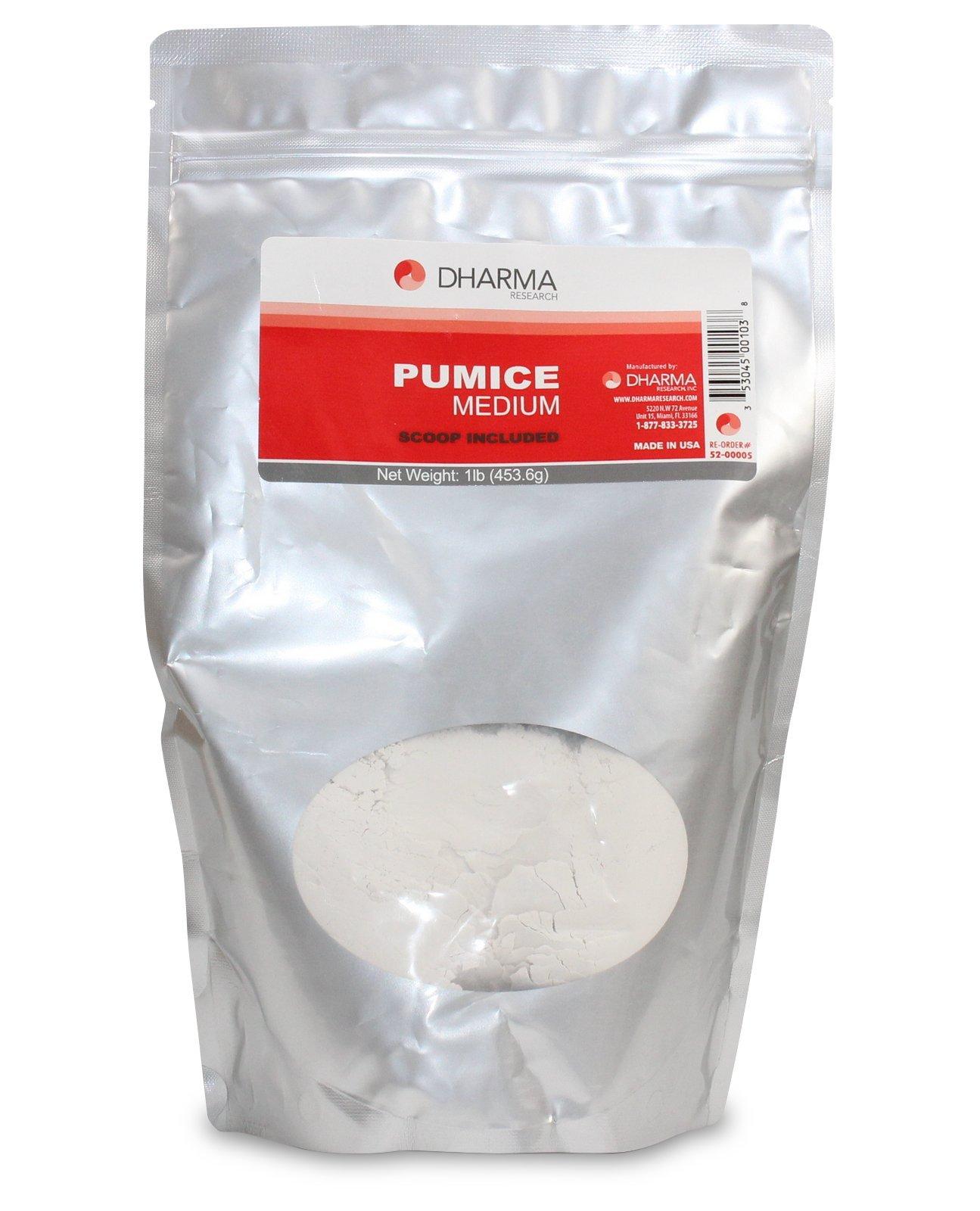 Dharma Pumice Medium Grit 1 lb