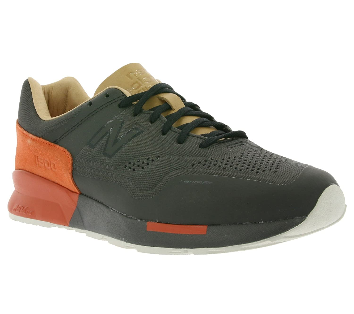 save off e0633 dbeb7 New Balance 1500 reengineered Mens Trainers Black MD1500FB ...