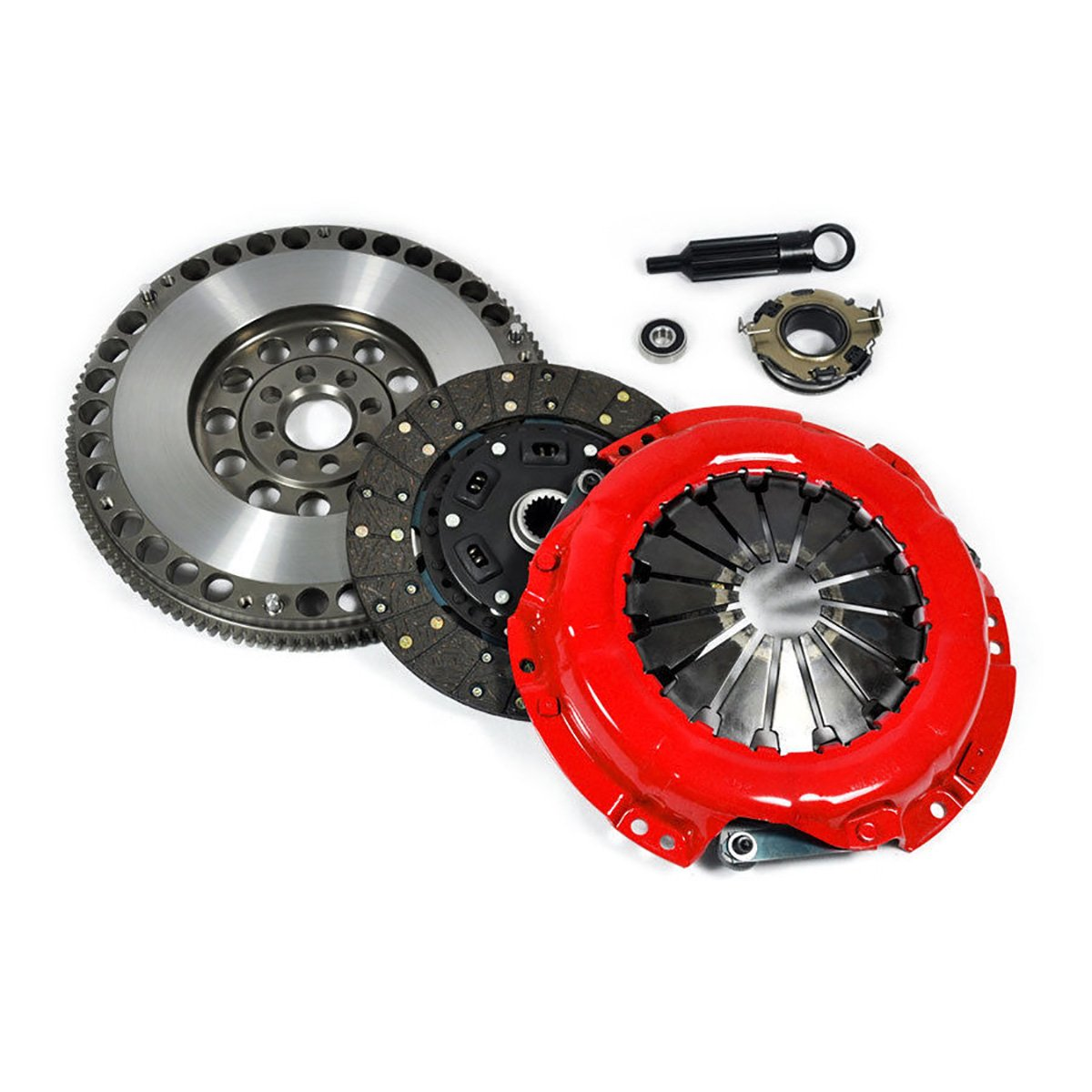 EFT STAGE 2 CLUTCH KIT+FORGED RACE FLYWHEEL CELICA ALL-TRAC MR2 2.0L TURBO 3SGTE