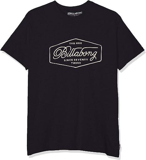 BILLABONG Trademark tee SS Camiseta para Hombre: Amazon.es: Ropa y accesorios