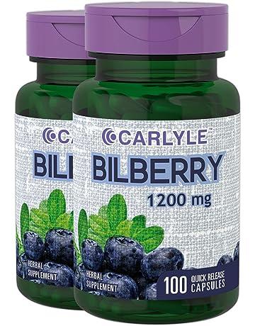 amazon com bilberry herbal supplements health household