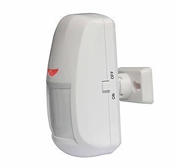 Detector Sensor de Movimiento PIR para Alarma GSM (sin antena exterior)