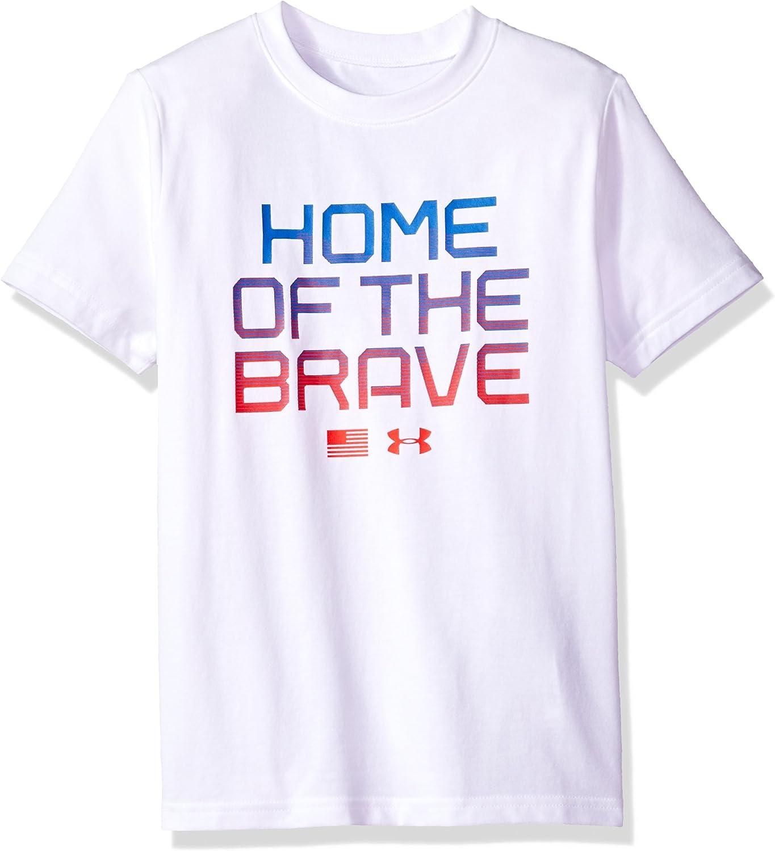 Under Armour Boys Home Of The Brave Short Sleeve Tee