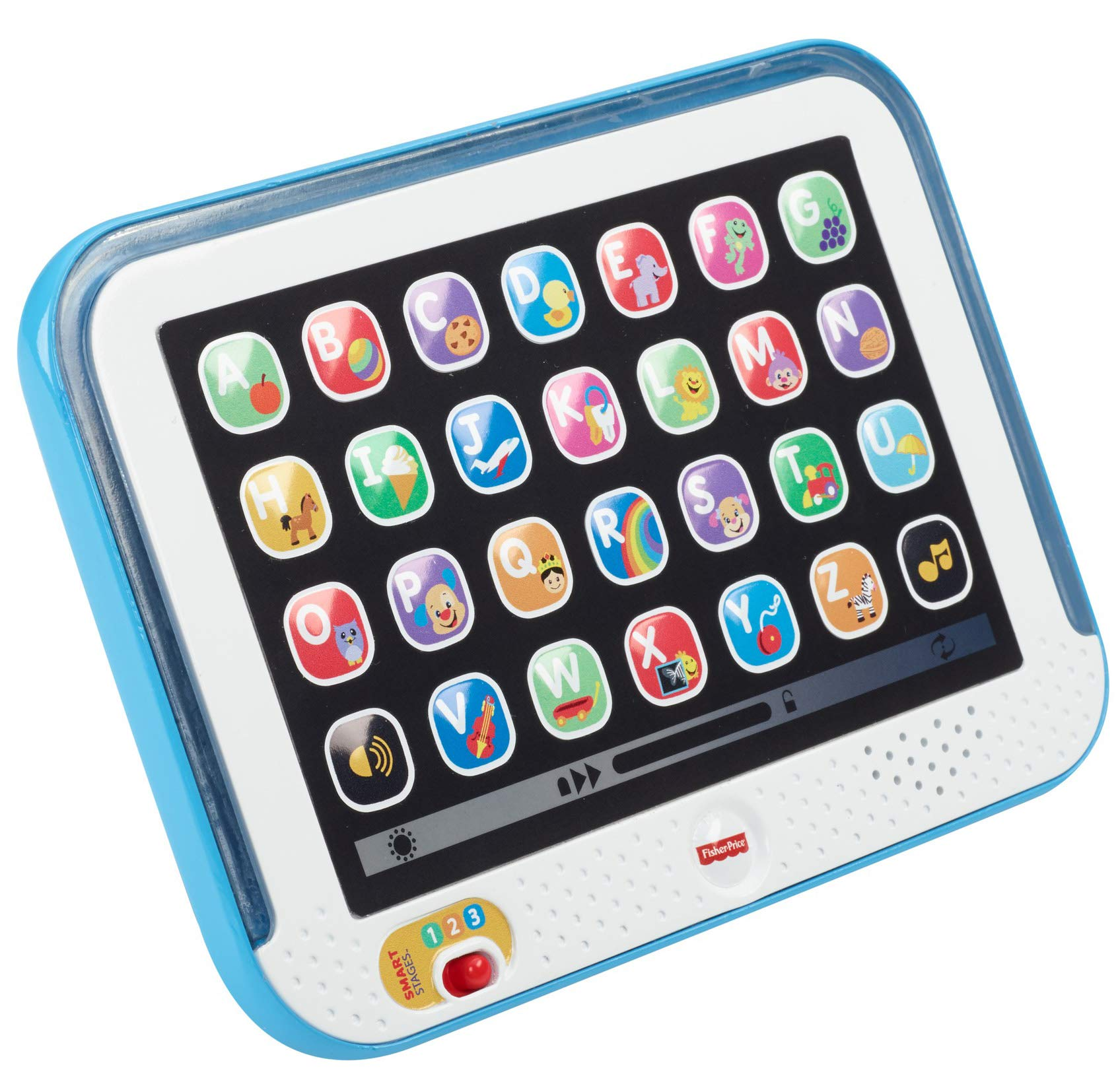 Fisher-Price Laugh & Learn Smart Stages Tablet, Blue by Fisher-Price (Image #4)