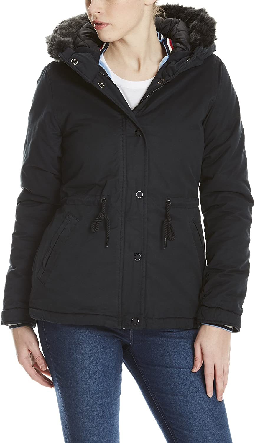 Bench Padded Jacket with Fur Lining Chaqueta para Mujer