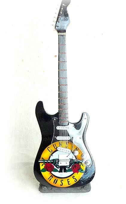 Hobbyfun mini guitar guitare petits ****guns n roses edition 24 cm
