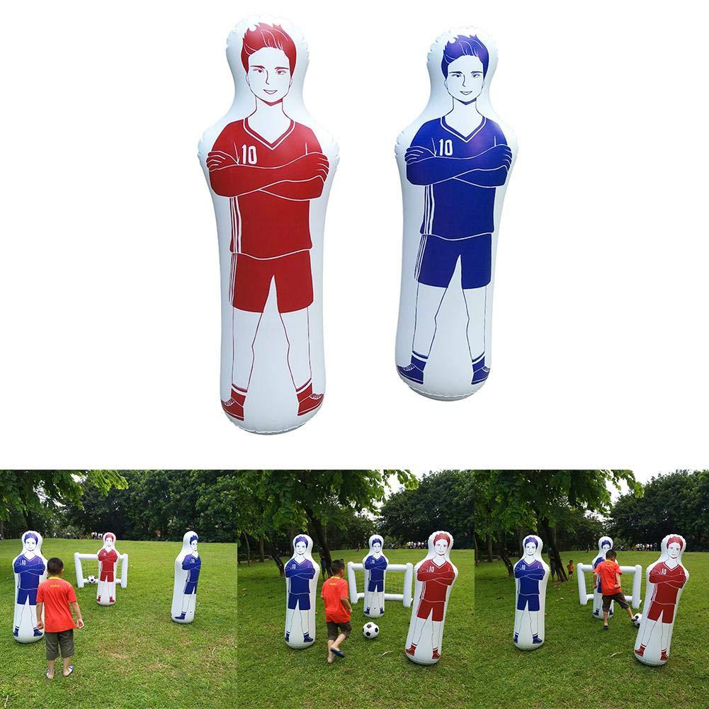 Mississ - Maniquí Hinchable para niños, para Adultos, fútbol ...