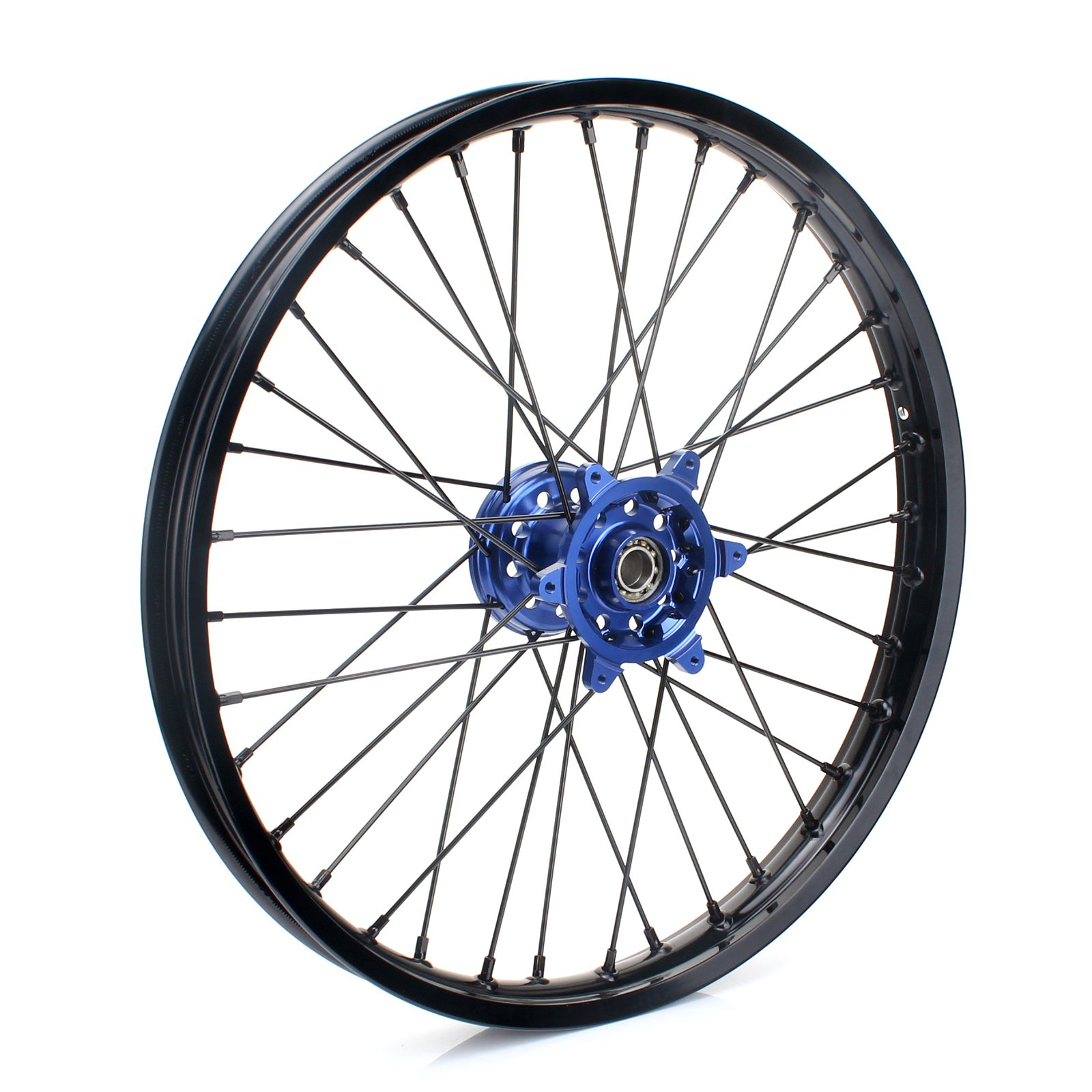 TARAZON 21'' Off-road MX Front Complete Wheel Set Rim Spokes Blue Hub for Yamaha YZ250F YZF250 2007-2013 YZ450F YZF450 2008-2013 YZ125 250 2008-2015