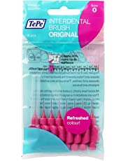 TePe Interdental Brushes 0.4mm Pink - 1 Packets of 8 (8 Brushes)