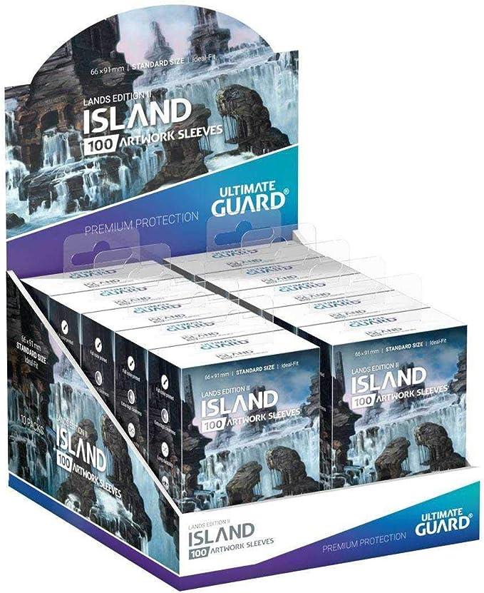 Ultimate Guard 100 Sleeves Lands Edition II Printed Sleeves Standard Size
