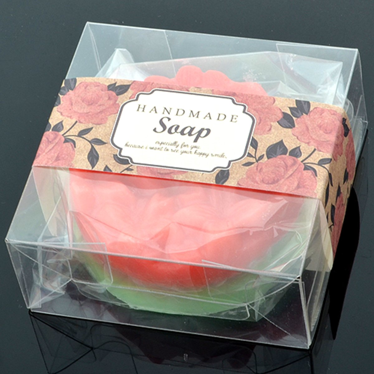 Wakehurst 50 pcs of Transparency Packaging Box - Candy Cookie Soap ...