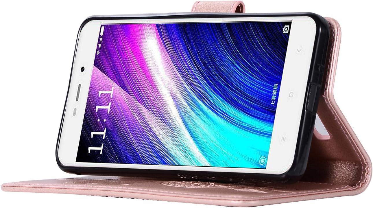 BCIT Xiaomi Redmi 4A Funda - [Patrón de búho] Carcasa Libro de ...