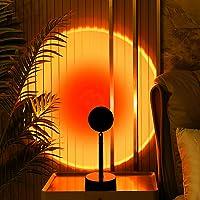 Mydethun Sunset Projectielamp, zonsonderganglamp, USB-ledprojectorlamp, projectorlicht, 90 graden rotatie, romantische…