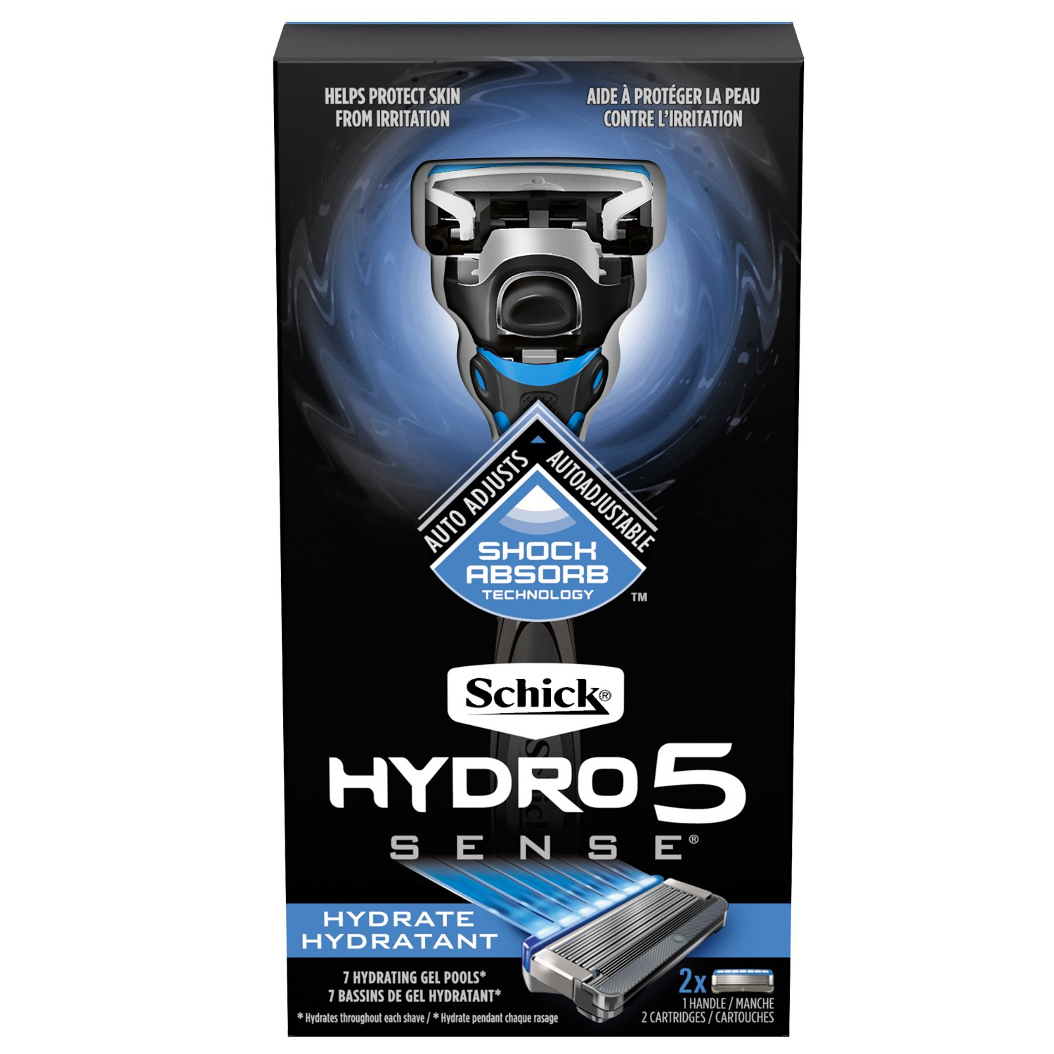 Shaving razor for men Schick Hydro 5: reviews 31