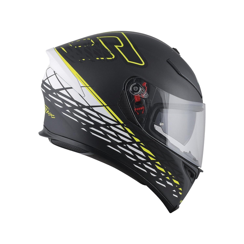 AGV Casco Moto K-5/S E2205/Top plk Thorn 46/Matt Black//White//Yellow L