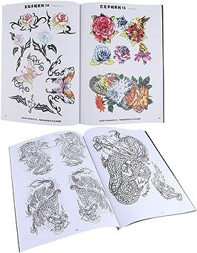 2 Pedazos Tattoo Book Arte Cuerpo Libros Tatuajes Arte Diseño ...