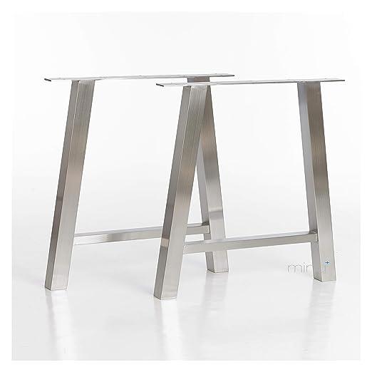 mina concept - Estructura de Mesa en Forma de A (60 x 60 mm ...