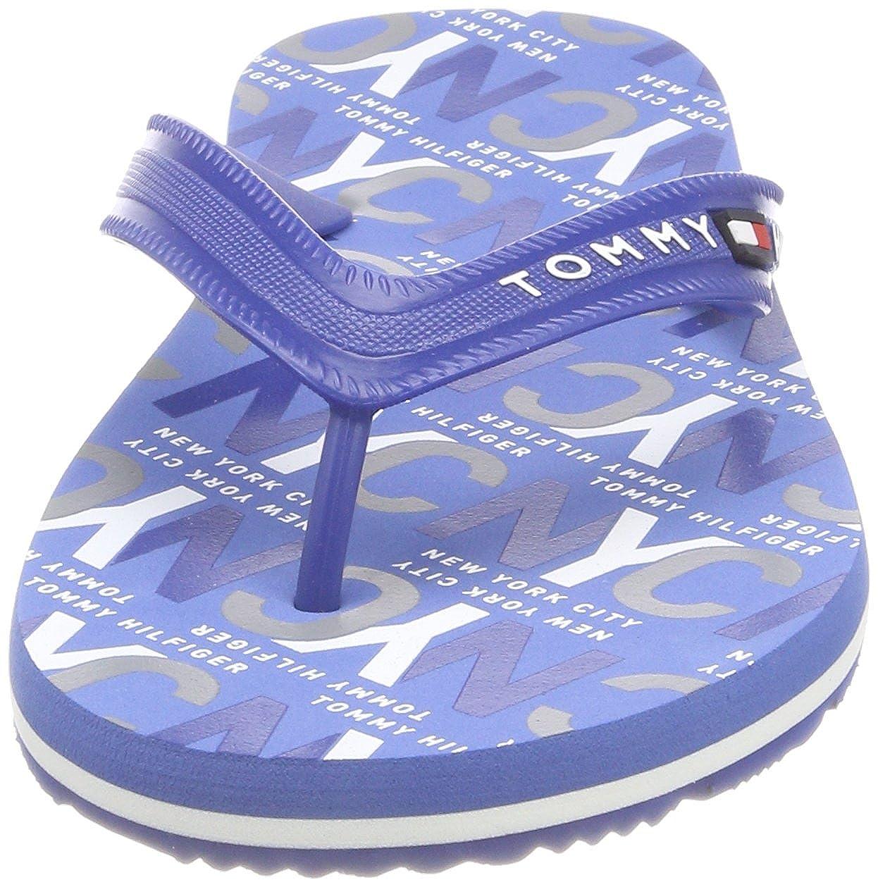 cb78153b1 Tommy Hilfiger Men s City Print Beach Sandal Flip Flops  Amazon.co.uk  Shoes    Bags