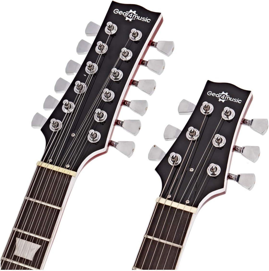 Guitare Brooklyn /à Double Manche par Gear4music