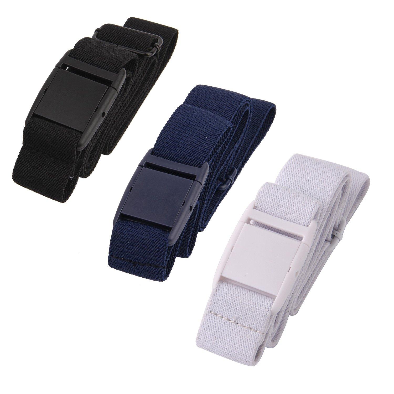 Gelante Women Invisible Belt - Elastic Adjustable Slimming 2045-Black/Navy/White-0-14