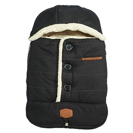 Black JJ Cole Original Bundleme Canopy Style Bunting Bag