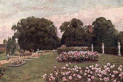 Kew Gardens 1908 In The Italian Garden Poster Print By T. Mower Martin (18
