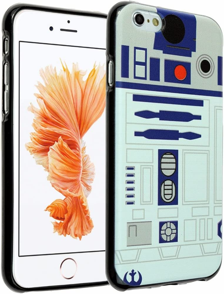 iPhone SE Case, iPhone 8 7 Case Star R2D2 Astromech Droid Robot, DURARMOR FlexArmor Soft Flexible TPU Bumper Case ScratchSafe Shock Absorbing Defender Cover