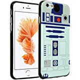 iPhone SE Case, iPhone 5 Case Star Wars R2D2 Astromech Droid Robot, DURARMOR FlexArmor Soft Flexible TPU Bumper Case Utra Slim ScratchSafe Shock Absorbing Defender Cover for iPhone SE 5S R2D2