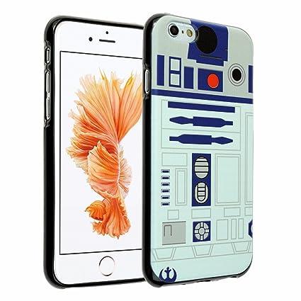 iPhone 6s Case, iPhone 6 Case Star Wars R2D2 Astromech Droid Robot,  DURARMOR® FlexArmor Soft Flexible TPU Bumper Case Utra Slim ScratchSafe  Shock