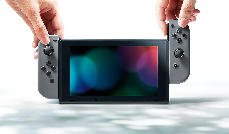Nueva Nintendo Switch - Color Gris por solo 319€