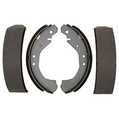 ACDelco 14593B Advantage Bonded Rear Brake Shoe Set: Automotive