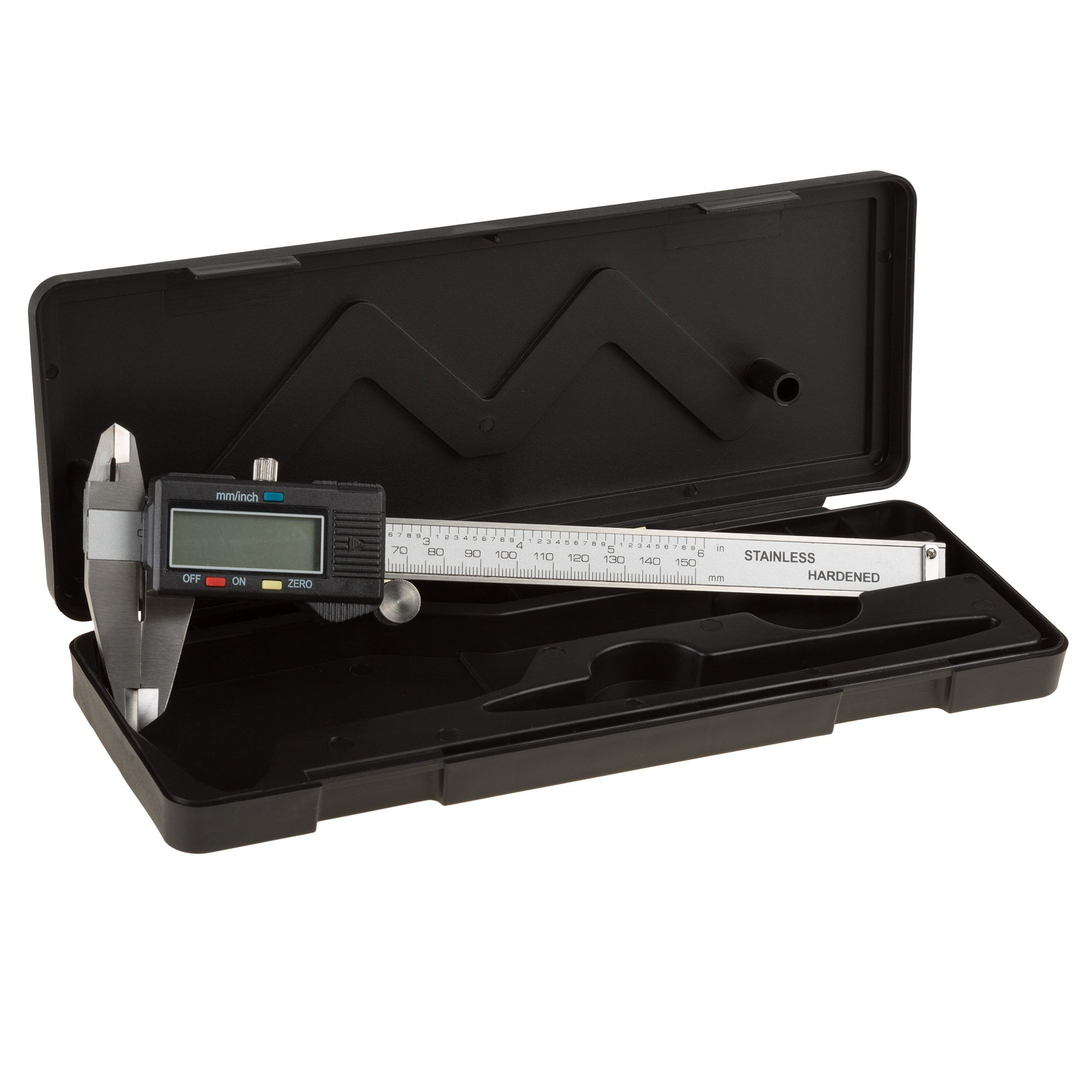 Electronic Digital Caliper, Stainless Steel with Extra Large LCD Screen and Inch/Metric Conversion- Measures Up to 6 Inch (0-150mm) by Stalwart by Stalwart (Image #5)