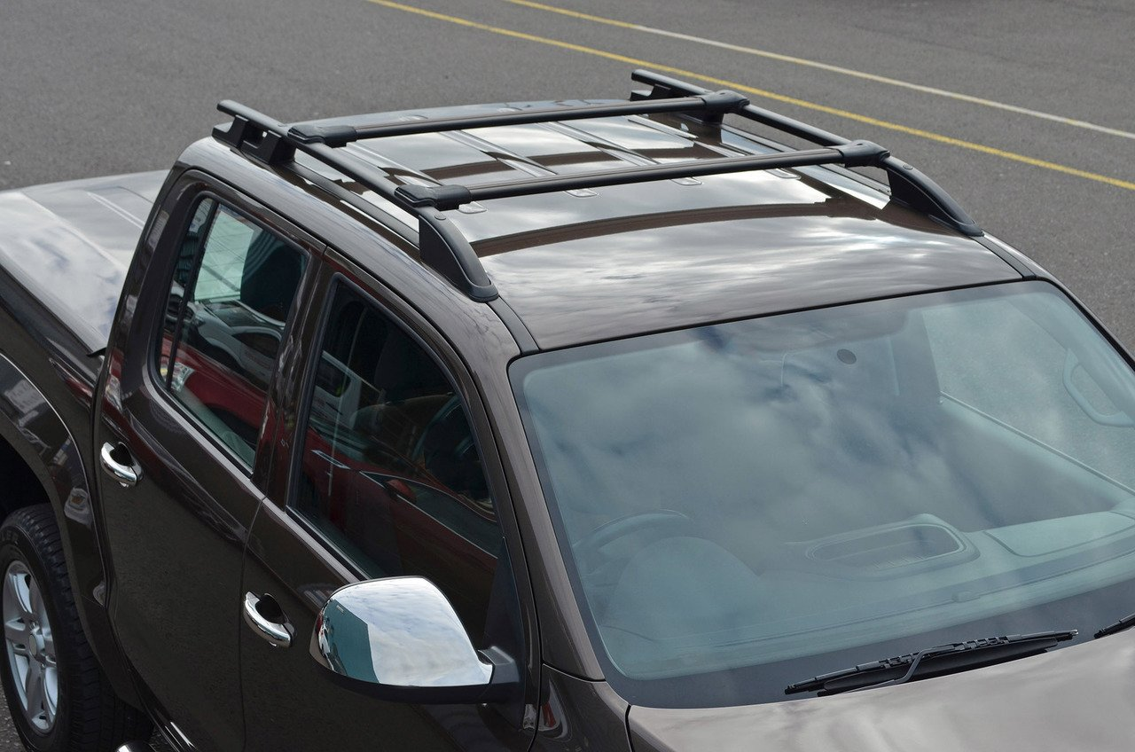 Um Transit Custom ALVM Parts /& Accessories alvm Teile und Zubeh/ör Schwarz Kreuz Bars f/ür Dachreling 100/kg Abschlie/ßbar 12/+